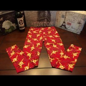 LuLaRoe Leggings with Cherubs, OS (Fits 0 to 12)